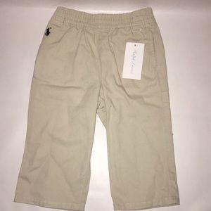 NWT Ralph Lauren Khaki Pants size 9M